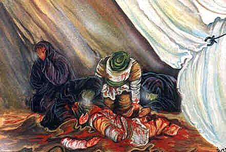 martyrs of kerbala Grade3 history uploaded by  friend of imam husayn(as) ganj-e-shohada - graves of the rest of the martyrs of kerbala qatl-ghah grave of ibrahim son of 7th imam.